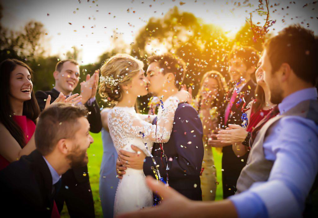 ceremonie huwelijk buiten